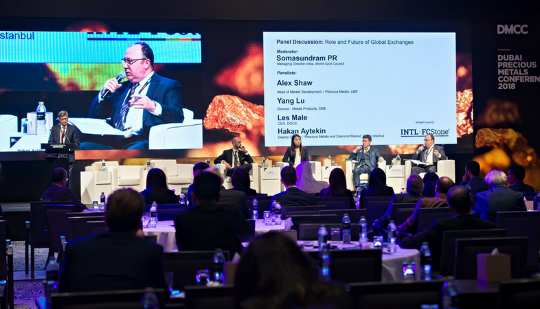 0 CME, DGCX, LME and Borsa Istanbul Discuss Role and Future of Global Exchanges at DMCC's Dubai Precious Metals Conference