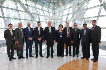 DMCC And DDE Host De Beers Delegation