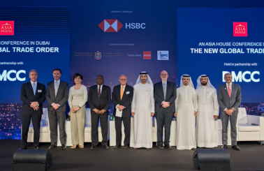 Dubai Increasing Nexus for Growth as Rise of Asia Trade Continues, Say World Government and Industry Leaders at DMCC's First Conference with Asia House