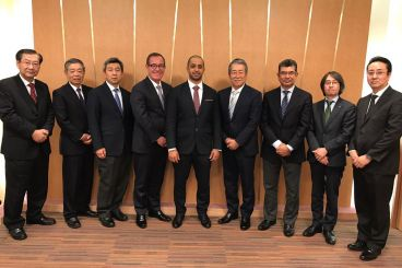KP Chair Holds Talks with Tokyo Diamond Exchange Club, Japanese Gem Society