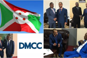 DMCC Executive Chairman Voices Support for Commodity Growth on Burundi Visit