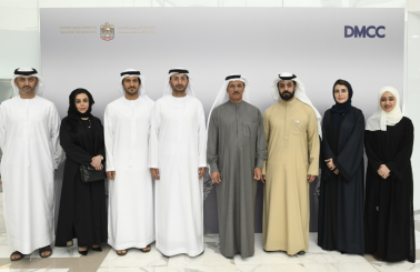 DMCC briefs UAE Minister of Economy on its Future Plans and Latest Updates in the Precious Metals Trade in Dubai