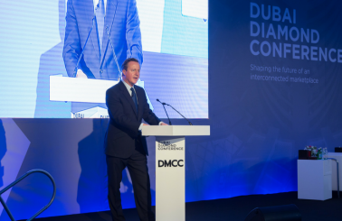 Former Prime Minister, David Cameron's Dubai Diamond Conference Keynote Leads with Strong Message on Globalisation and Sustainability