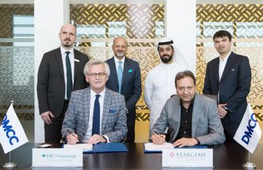 DMCC welcomes MoU signing between STARGEMS DMCC and HRD Antwerp to establish diamond jewellery grading lab in Almas Tower