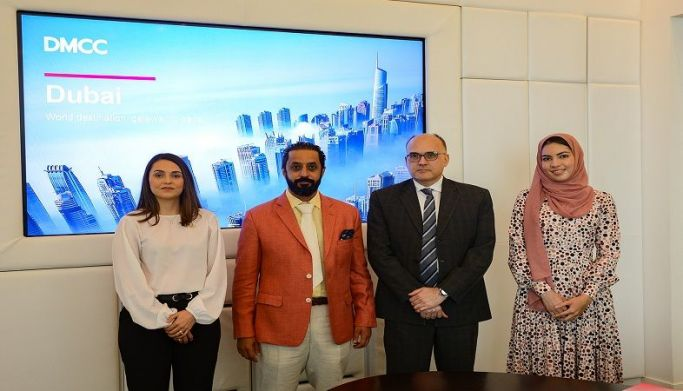 DMCC Executive Chairman and CEO Hosts Costa Rican Ambassador to the UAE at Almas Tower