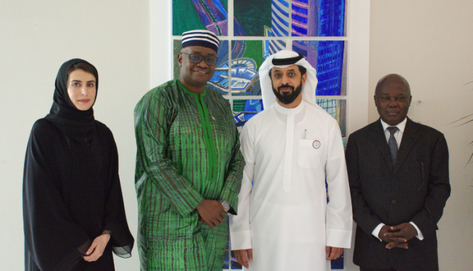 Trade and Investment Attache of Sierra Leone to the UAE takes tour of DMCC
