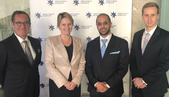 DMCC Executive Chairman to Connect Western Australia's Entrepreneurs and Business Leaders of the Future with the World's Leading Free Zone in Dubai