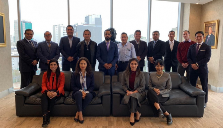 DMCC Executive Chairman meets with Chamber of Commerce for Peru